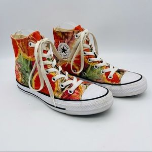 Chuck Taylor All Star Grapefruit High Top Sneakers